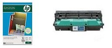 Compatible replacement print imaging drum kit (not original HP Image drum unit HPWQ3964A, some components are remanufactured) with FREE HP Laser Photo Paper Q8842A (100 sheet,4x6) for Hewlett Packard color laserjet 1500 2500 2550 2550L 2550LN 2550N 2820 2