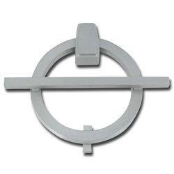 Avalon modernist door knocker satin nickel - Door knocker nickel ...