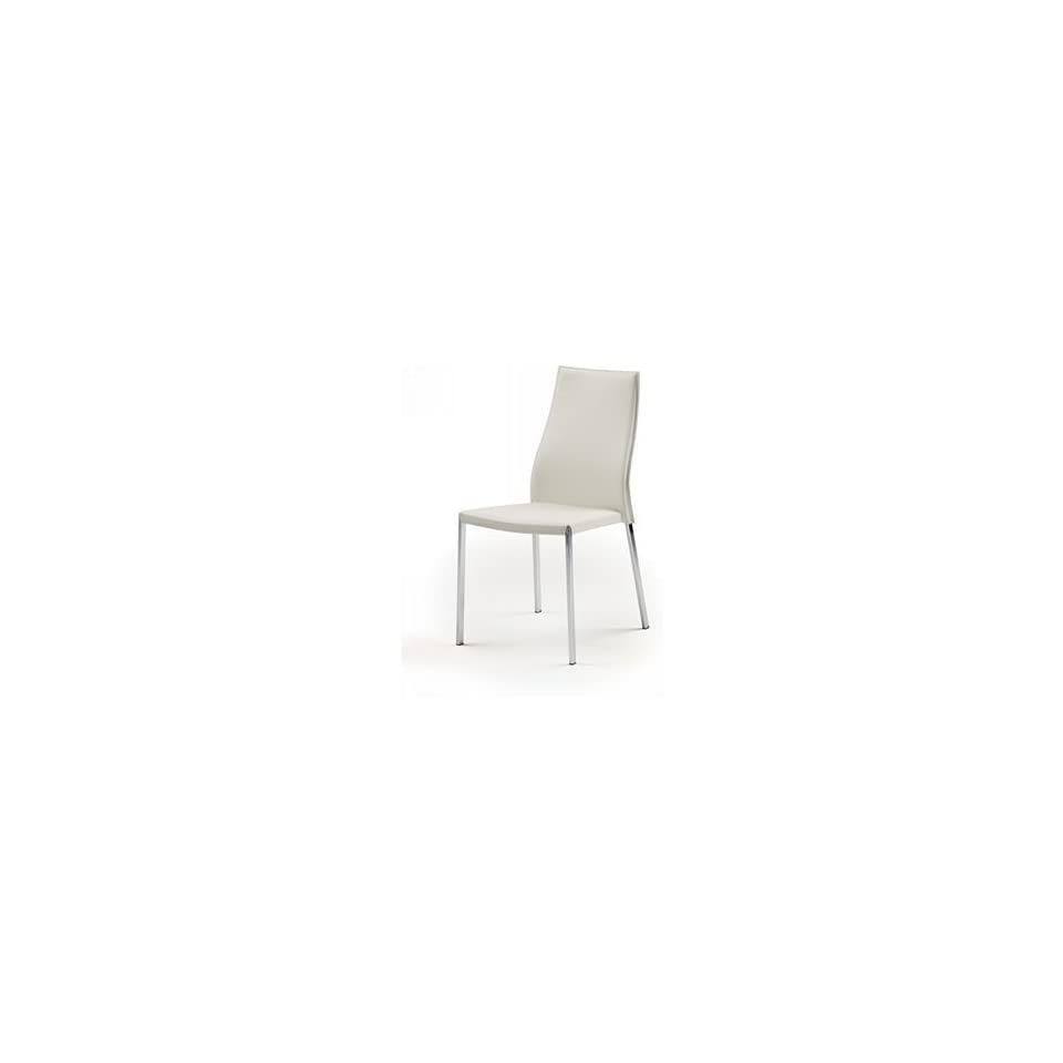 Nuevo Living   Eric Dining or Accent Chair   White Top