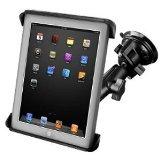 RAM Mount Tab-Tite iPad / HP TouchPad Cradle Twist Lock Suct