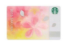 スターバックス STARBUCKS スタバ 2015 カード さくら ブリス