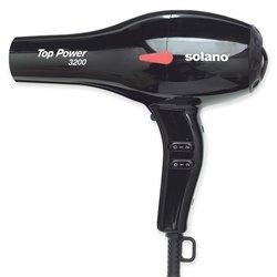 Solano Top Power 1875-Watt Ionic Hair Dryer, Model 3200, Black