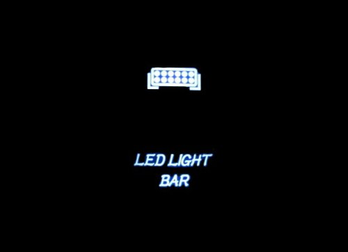 Adrenaline Cycles Dual Backlit White Led Light Bar Rocker Switch On Off New For All Atv Utv Off Road 4X4 Vehicles Trucks Jeep Suv Boat Rv Sxs #Aclbs