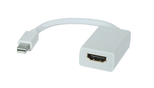 Mini DisplayPort to HDMI Adapter HD 1080p and digital audio output for Macbook, Macbook Pro, Macbook Air Apple laptop computer