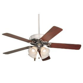 Emerson CF711BS Pro Series II Indoor Ceiling Fan, 52-Inch Blade Span, Brushed Steel Finish