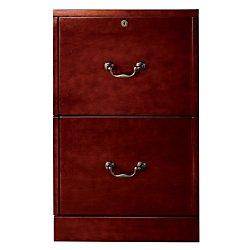 Realspace(R) Premium 2-Drawer Laminate Vertical