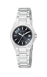 CITIZEN Watch:Citizen Women's EG2664-50E Eco-Drive Swarovski Crystal Accented Two-Tone Watch Images