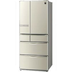 【SJ-XF60T-N】 シャープ フレンチ6ドア冷凍冷蔵庫 《プラズマクラスター搭載》 [601L]