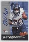 Mike Bell Denver Broncos (Football Card) 2006 Flair Showcase [???] #Au-Mb