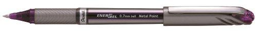 Pentel BL27 Energel Plus - Bolígrafo con tinta de gel (0,35 mm), color violeta