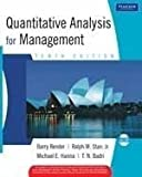 img - for Quantitative Analysis for Management 10th edition 10th edition by Barry Render, Ralph M. Stair, Michael E. Hanna, T.N. Badri (2008) Mass Market Paperback book / textbook / text book