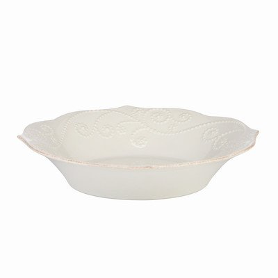 French Perle Individual Pasta Bowl [Set of 4] Color: White (Lenox Pasta Set compare prices)
