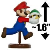 "Mario ~1.6"" Mini Figure [New Super Mario Bros. Wii Choco Egg Series - NO CANDY] (Japanese Import) - 1"