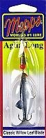 Mepps Aglia Long Minnow Fishing Lure 14-ounce Hot Fire Tiger from Mepps