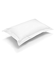 Autograph Pure Egyptian Cotton Satin Plain Dye Pillowcase