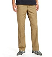 Big & Tall Flat Front Regular Fit Chinos with Stormwear™