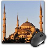 Danita Delimont - Matt Freedman - Mosques - Istanbul, Turkey. The Blue Mosque at sunset. - MousePad (mp_189045_1)