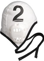 Finis Team Water Polo Caps (Men, White)