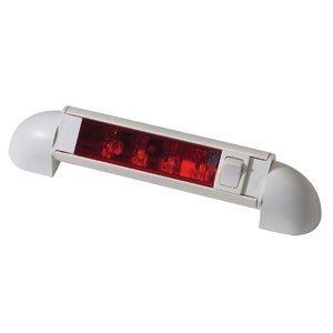 4-LED Bunk Lights White Bunk Light 4 Red LEDs