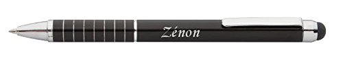 crayon-personnalise-avec-le-pere-noel-chiffre-avec-un-texte-zenon-noms-prenoms