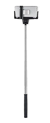 selfie stick urpower extendable self portraits pole handheld selfie stick with plastic rearview. Black Bedroom Furniture Sets. Home Design Ideas
