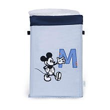 Mickey Mouse Collapsible Canvas Storage - Blue