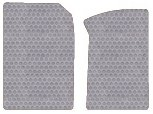 GMC Sierra 3500 Custom-Fit All-Weather Rubber Floor Mats 2 Pc Fronts - Crew Cab - Light Gray (2001 01 2002 02 2003 03 2004 04 2005 05 2006 06 2007 07 ) AMSQTHW435115||805OH7YF
