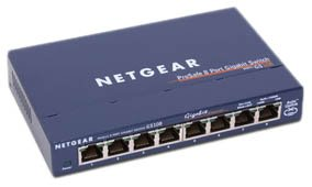 Netgear GS108 8-port Gigabit Ethernet Unmanaged Switch