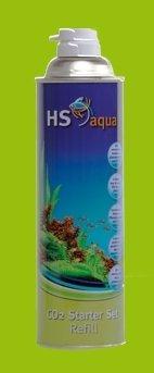 Hs Aqua Co2 Starter Nachfüllflasche - 550 ml Druckluftflasche