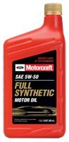5w50 Ford Motorcraft XO-5w50-QGT Full Synthetic Motor Oil 12 qt case (Motors Ford 302 compare prices)