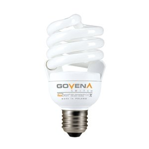 Govena Energiesparlampe SWITCH, E27, 20W, warmweiss, Spirale