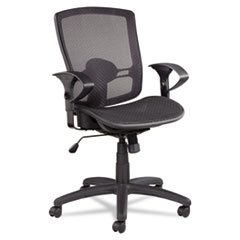 Etros Series Suspension Mesh Mid-Back Synchro Tilt Chair, Me