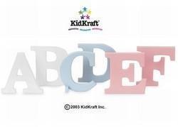 Kidkraft Wood Letter U Pink - 1