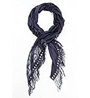 Indigo Collection Lightweight Lace Scarf