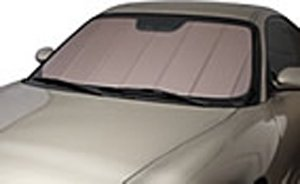Covercraft UVS100 - Series Custom Fit Windshield Shade for Select Mercedes-Benz E-Class Models - Triple Laminate Construction (Rose)
