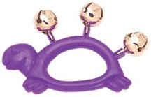 Hohner Kids Animal Jingle Bell, Assorted Colors and Shapes