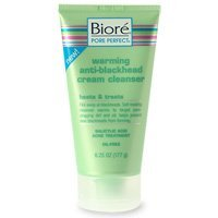 Biore Warming Anti, Blackhead Cream Face Cleanser, 6.25 oz