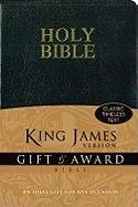 KJV, Gift and Award Bible (Bible Kjv)