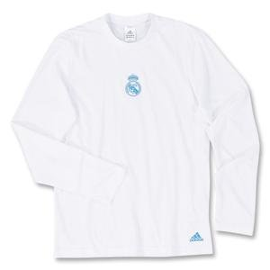 Real Madrid 08/09 Style LS T-Shirt