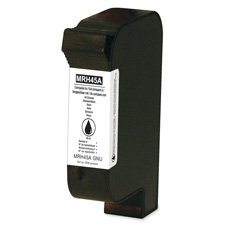 Color Laboratories Products - Ink Cartridge, 40 ml, Black - Sold as 1 EA - Vortex remanufactured ink cartridge is designed for use with Pitney Bowes DA500, 550, 750, 900 Series Addressing Systems; DA-610, 612, 615, 620, Envelope Imager I, II, III, PS-2000, XPS-80, 90, 90, 2000 Series Addressing Systems; 22K, 24K/KPSV, 26K, 30K, Printstream I, II, V250, 300 Series Addressing Systems. Page yields are dependent upon coverage, resolution, paper and printer used.