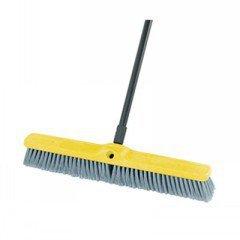 "24"" Fine Sweep,W/Flaggedstyrene Fill,Plastic Blk front-514173"