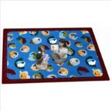 "Joy Carpets Kid Essentials Inspirational Children of The World Area Rug, Multicolored, 7'8"" x 10'9"""