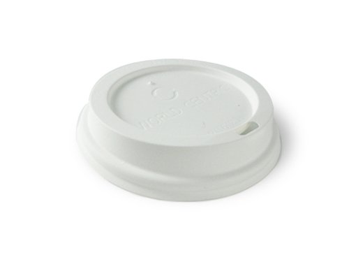 World Centric Corn Starch Compostable Lid - 10-24-Ounce, 1000 Ct