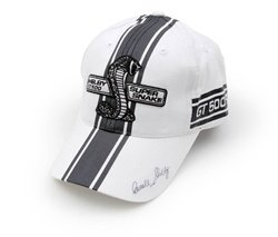 Shelby Ford Super Snake White Stripe Hat (Super Snake compare prices)