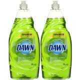 Dawn Ultra Green Apple Blossom Antibacterial Dishwashing Liquid (2) 18 Fl Oz. Total: 36 Fl Oz. (Apple Dishwashing Detergent compare prices)