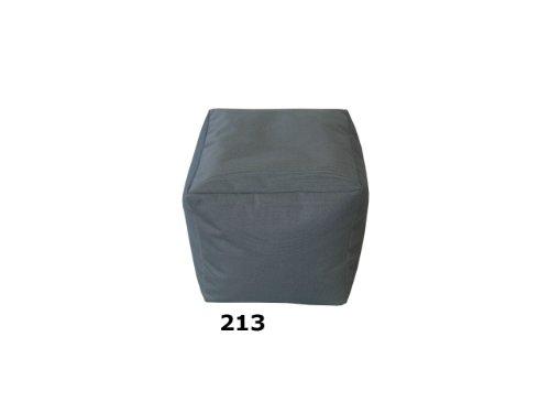 Sitzsack-Bodenkissen-Sitzkissen-Hocker-Cube-Wrfel-Sitzwrfel-Sitzhocker-Codura-213-Anthrazit