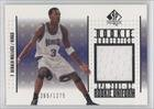 Gerald Wallace #1265 1,275 Sacramento Kings (Basketball Card) 2001-02 SP Authentic... by SP Authentic