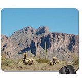 Superstition Mountain in Arizona Mouse Pad, Mousepad (Mountains Mouse Pad)