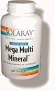 Mega Multi Mineral Amino Acid Chelates Iron-Free - 100 - Capsule