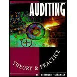 Auditing: Theory and Practice (0873939336) by Jerry R. Strawser